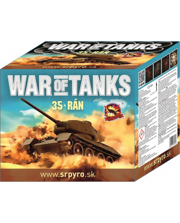 War of tanks 35r 36mm 2ks/CTN
