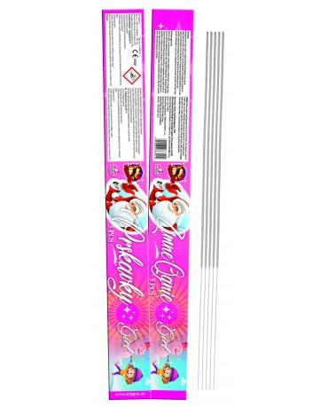 Prskavky/Ognie GIRL 60cm 50bal/ctn