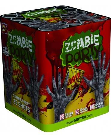 Zombie party 25r 36mm 2ks/CTN