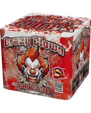 Crazy clown 36r 25mm 8ks/ctn